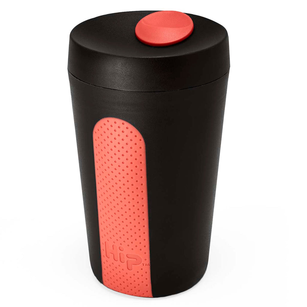 Hip Midnight Coral 12 oz Coffee Cup