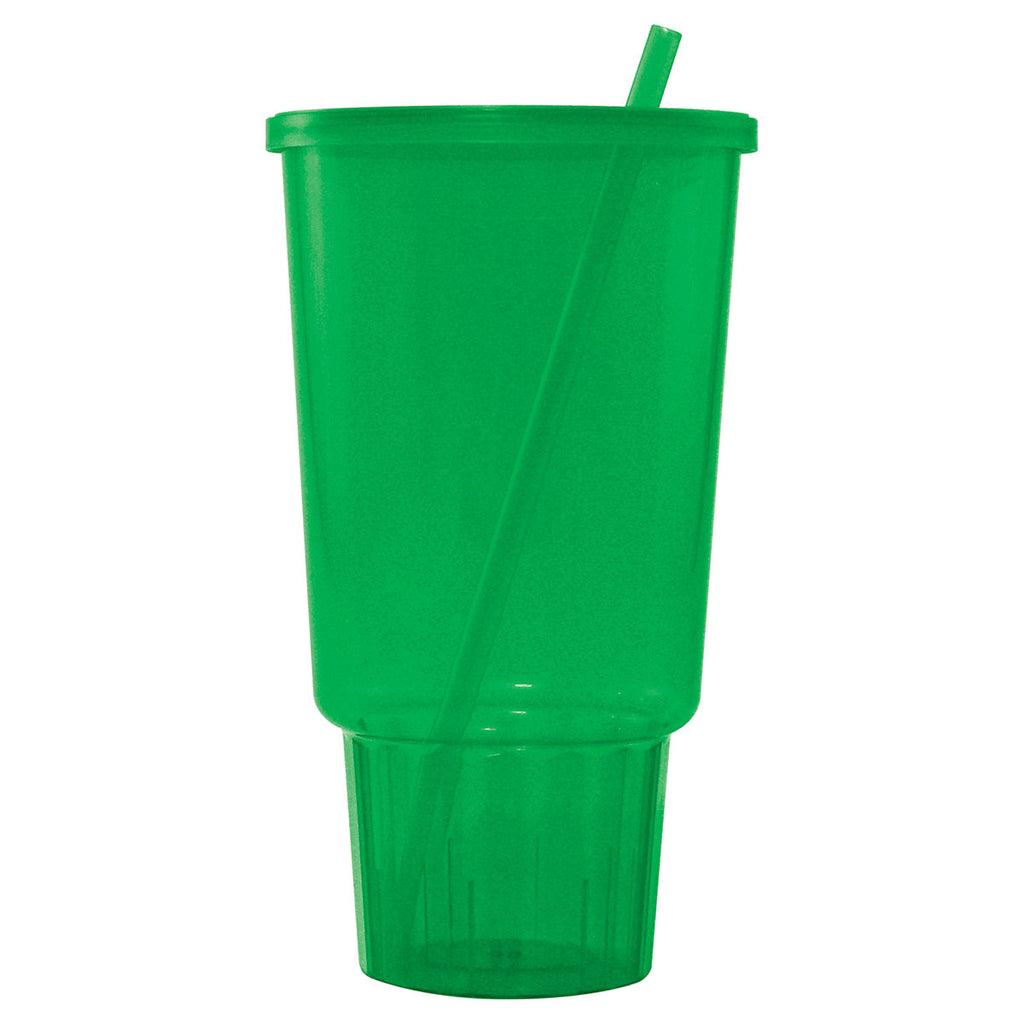 Bullet Emerald Jewel 32oz Car Cup with Lid and Straw