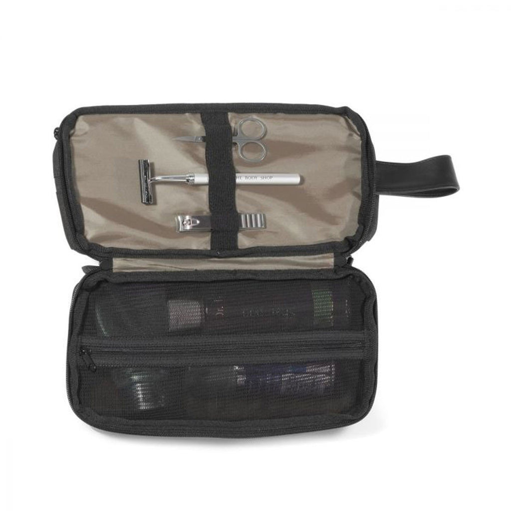 MerchPerks Heritage Supply Charcoal Heather Tanner Amenity Case