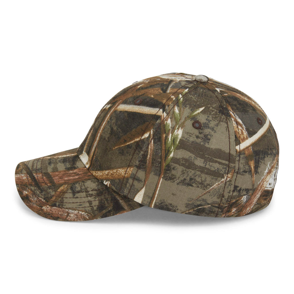 Paramount Apparel Realtree Max-5 Unstructured Camo Fabric Cap