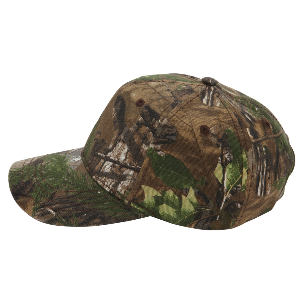 Paramount Apparel Realtree Xtra Green Camo Fabric Self-Fabric with Buckle Cap