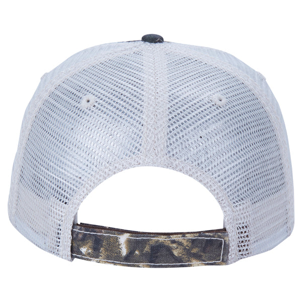 Paramount Apparel Realtree Xtra Brown/Stone Camo Mesh Back Cap