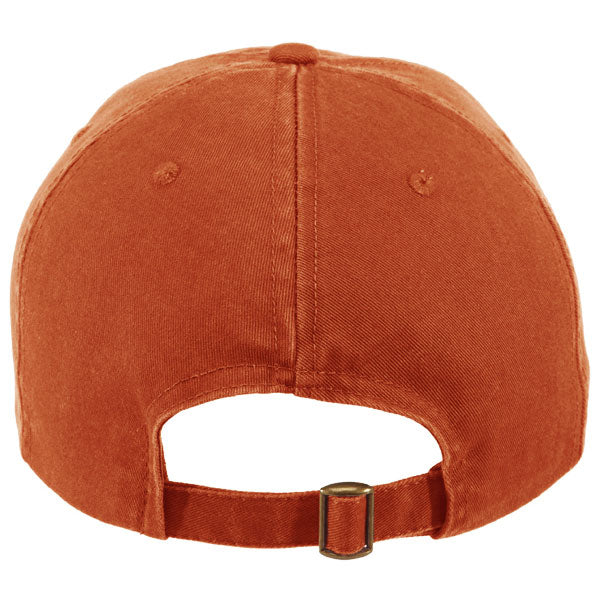 Paramount Apparel Burnt Orange Caps 101 Garment Wash Cap