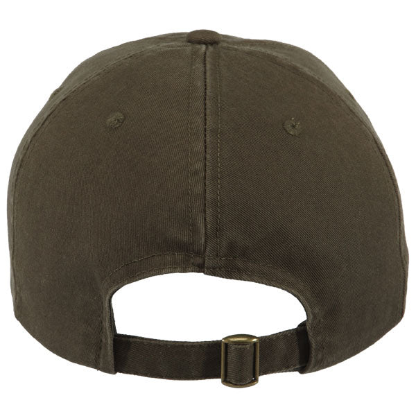 Paramount Apparel Olive Caps 101 Garment Wash Cap