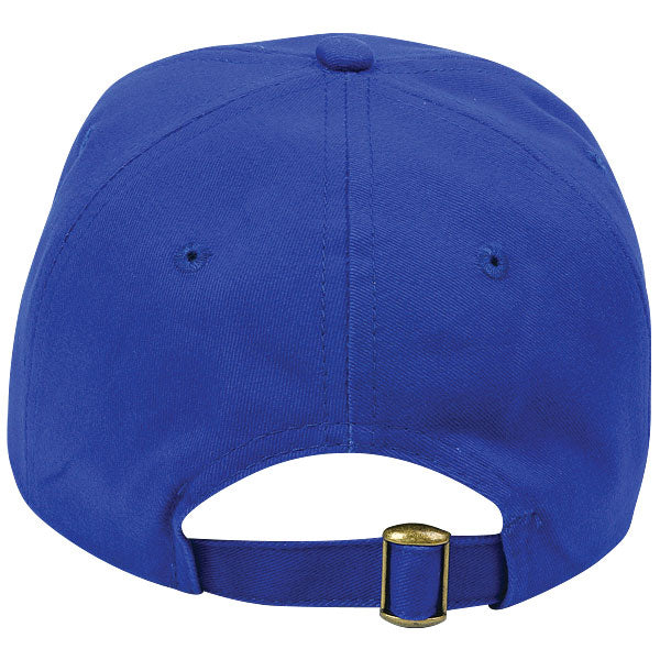 Paramount Apparel Royal Caps 101 Unstructured Jockey Brushed Twill Cap