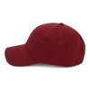 Paramount Apparel Dark Red Caps 101 Garment Washed Cap