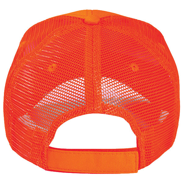 Paramount Apparel Flame Orange Flame Orange and Mesh Cap