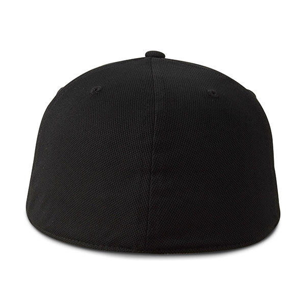 Paramount Apparel Black CoolQwick Fitted Cap