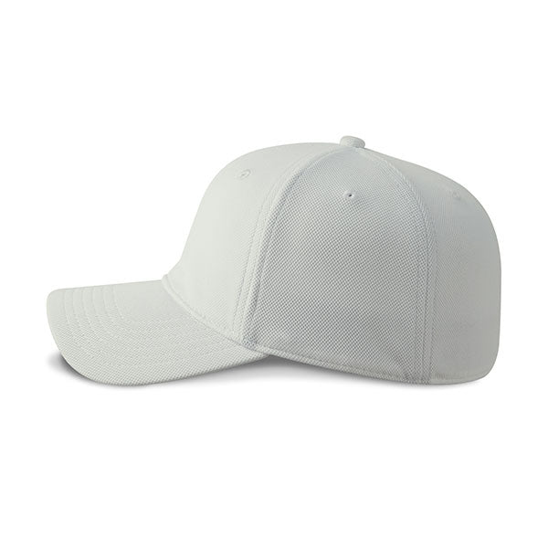 Paramount Apparel White CoolQwick Fitted Cap