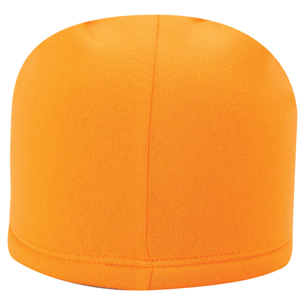 Paramount Apparel Flame Orange Camo Fleece Beanie