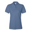 izod-womens-blue-pique-polo