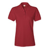 izod-womens-red-pique-polo