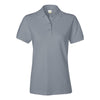 izod-womens-grey-pique-polo