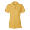 izod-womens-yellow-pique-polo