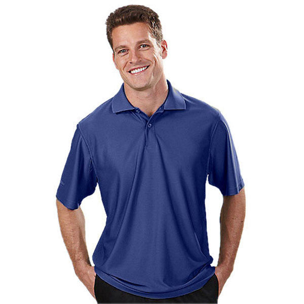 IZOD Men's Cobalt Blue Performance Poly Pique Polo