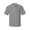 izod-light-grey-poly-polo