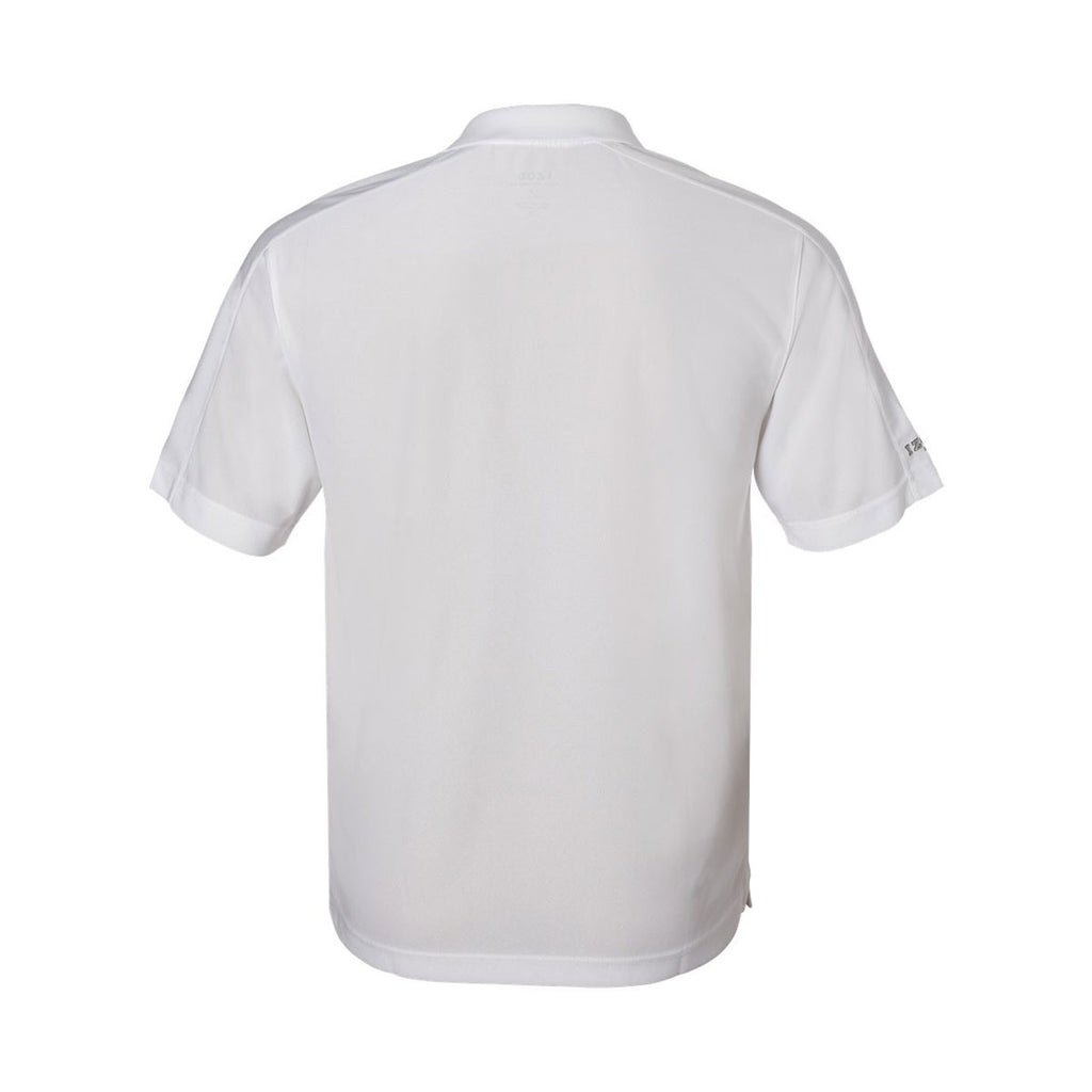 IZOD Men's White Performance Poly Pique Polo