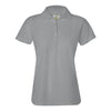 izod-womens-light-grey-poly-polo