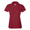 izod-womens-red-poly-polo