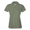 izod-womens-light-green-poly-polo