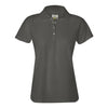 izod-womens-charcoal-poly-polo