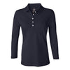 izod-womens-navy-stretch-polo