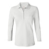 izod-womens-white-stretch-polo