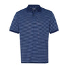 izod-navy-stripe-polo