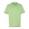 izod-light-green-stripe-polo