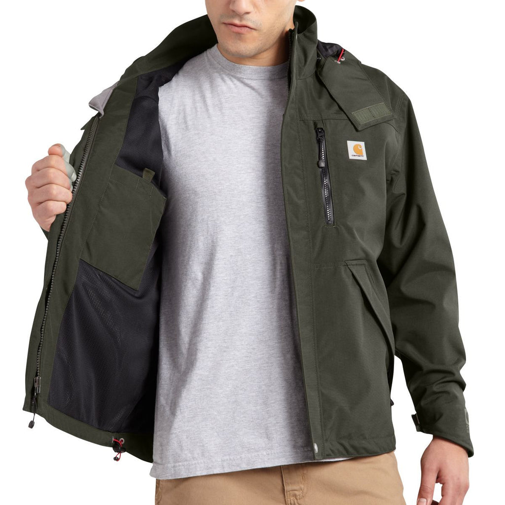 Carhartt Men's Olive Shoreline Jacket