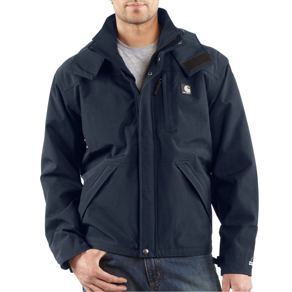 Carhartt Men's Navy Shoreline Jacket