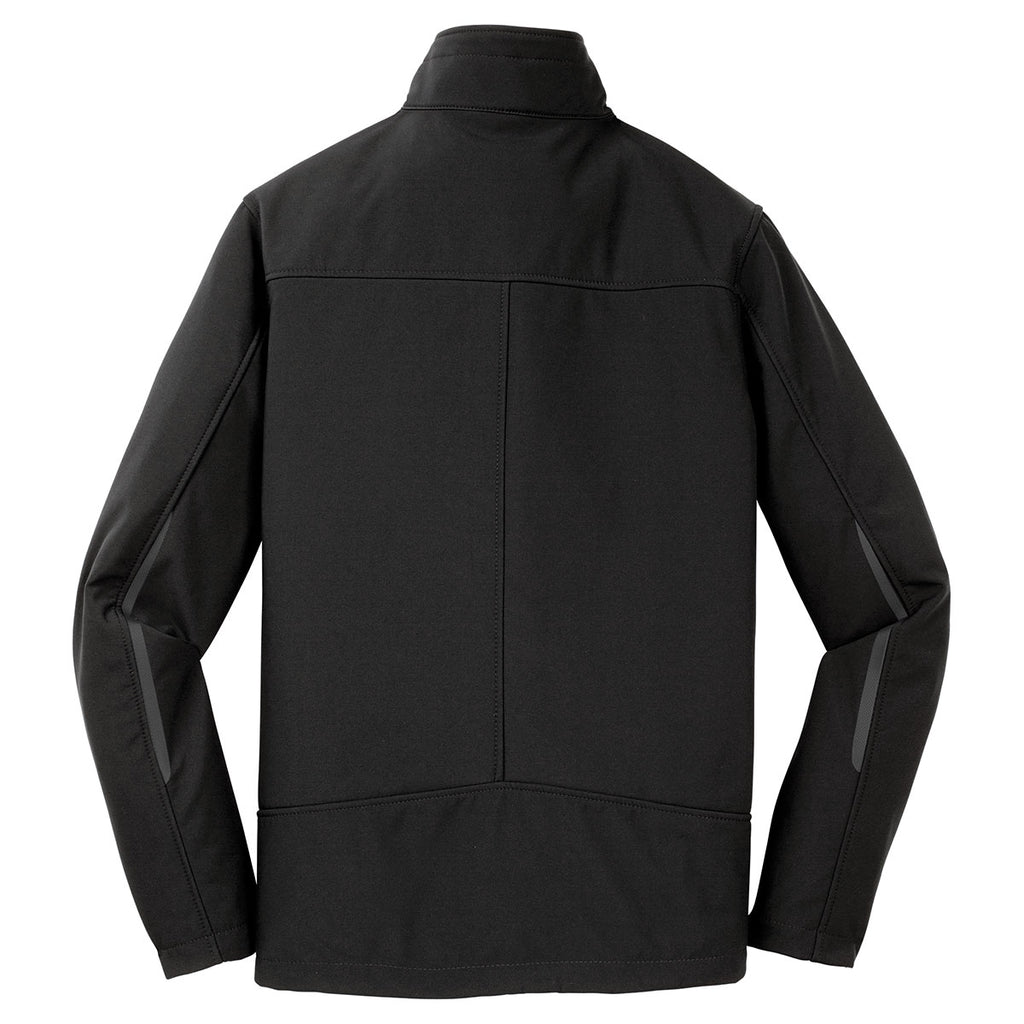 Port Authority Men's Black Welded Soft Shell Jacket