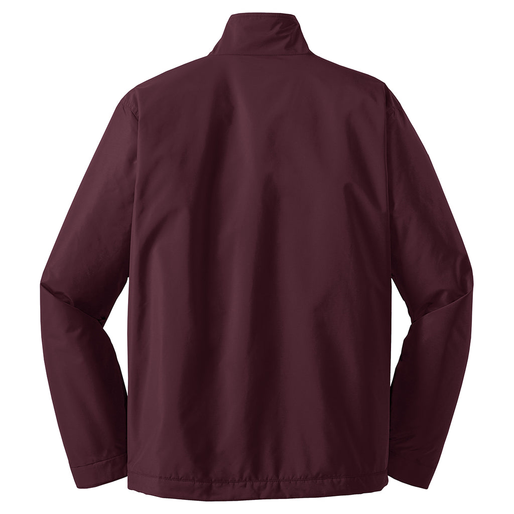 Port Authority Men's Maroon/True Black Challenger II Jacket