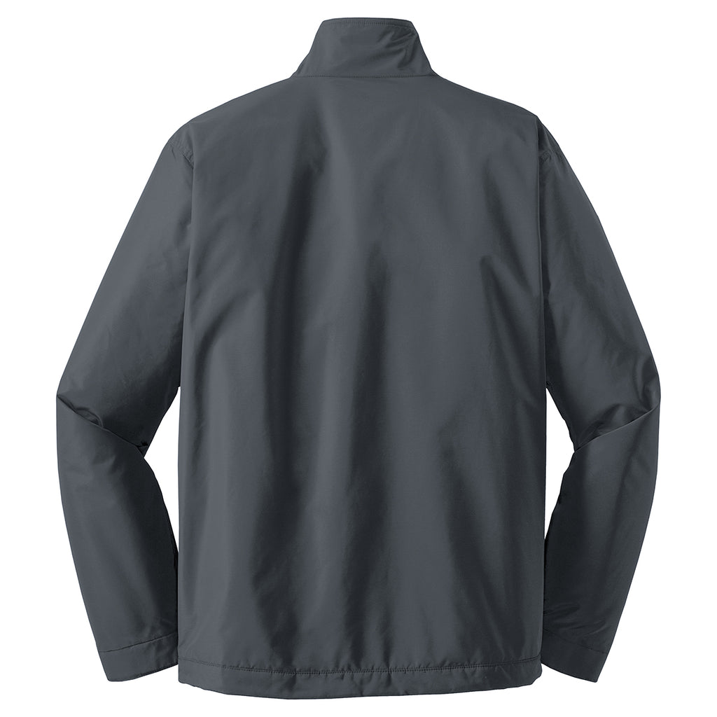 Port Authority Men's Steel Grey/True Black Challenger II Jacket