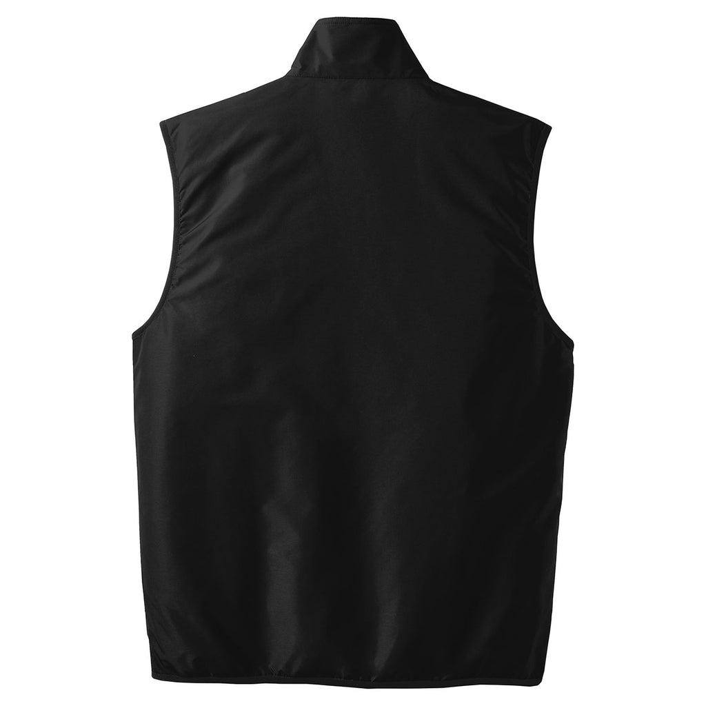 Port Authority Men's True Black/True Black Challenger Vest
