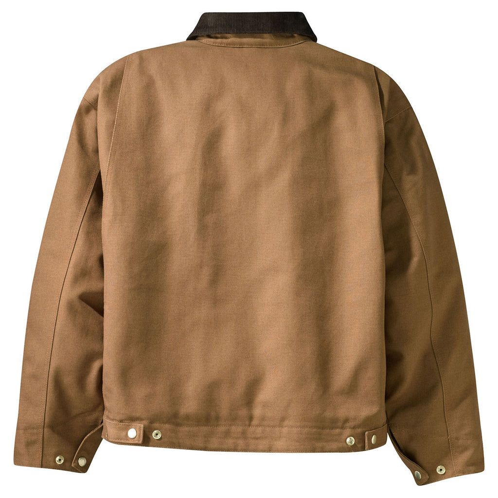 Cornerstone Men's Duck Brown Duck Cloth Work Jacket
