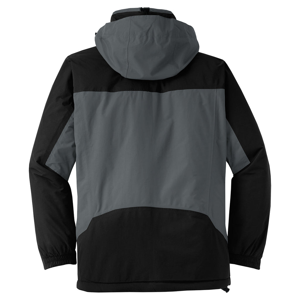 Port Authority Men's Graphite/Black Nootka Jacket