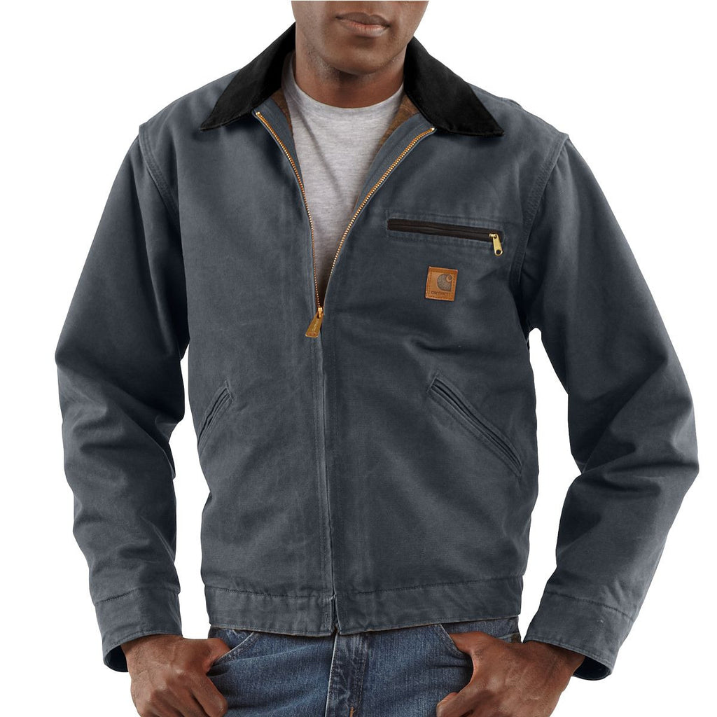 Carhartt Men's Gravel Sandstone Detroit Jacket