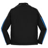 Sport-Tek Men's Black/True Royal/White Piped Colorblock 1/4-Zip Wind Shirt