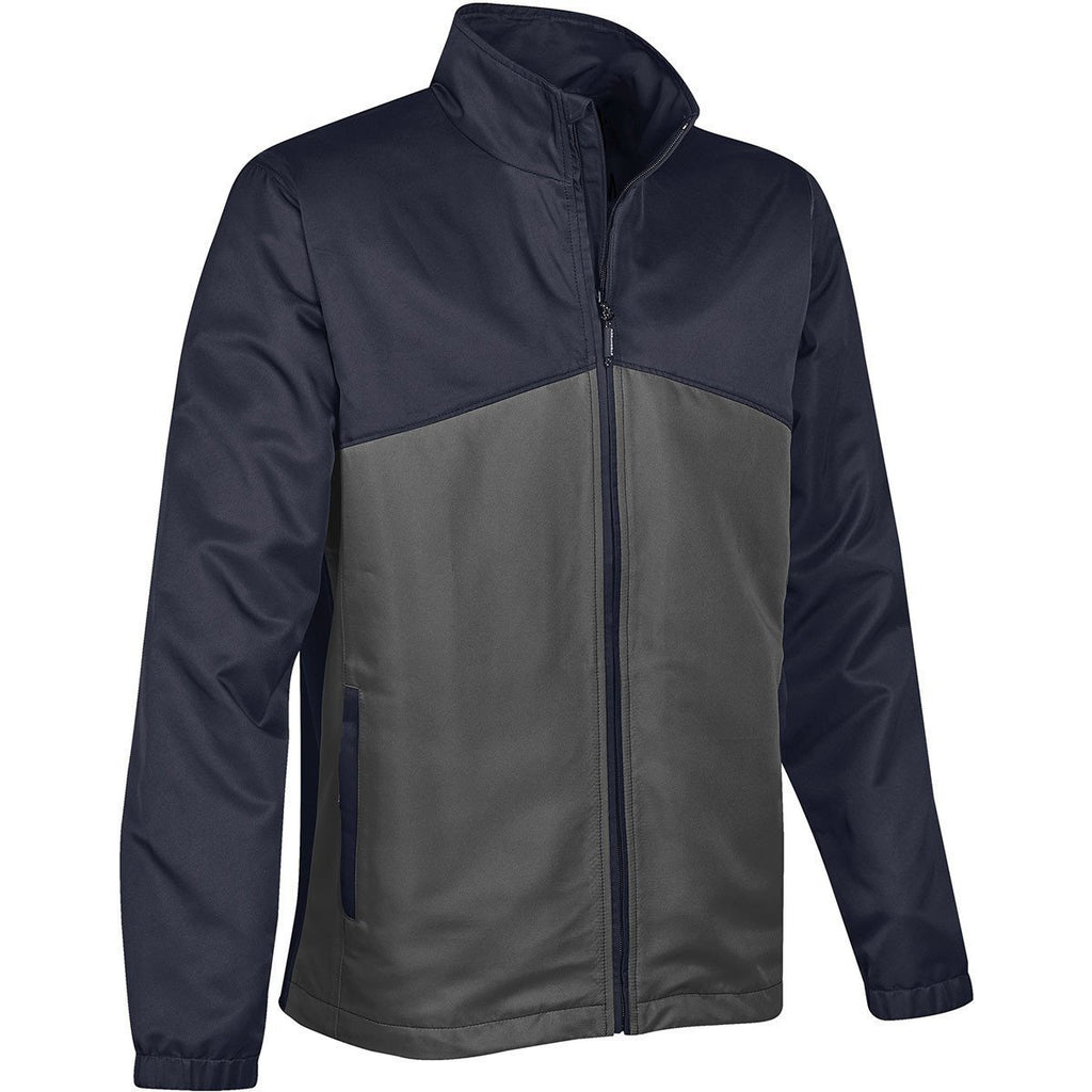 Stormtech Men's Navy/Granite Endurance Shell