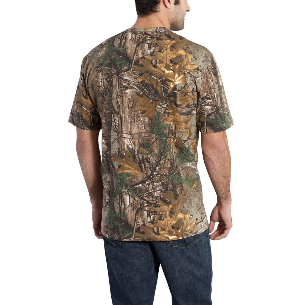 Carhartt Men's Realtree Xtra Camo Short Sleeve T-Shirt