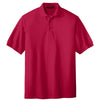 port-authority-red-knit-polo