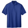 port-authority-blue-knit-polo