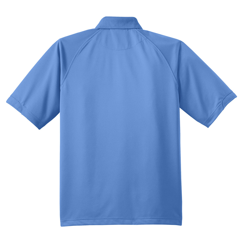Port Authority Men's Blue Lake Dry Zone Ottoman Polo