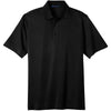 port-authority-black-tech-polo