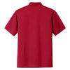 Port Authority Men's Rich Red Tech Pique Polo
