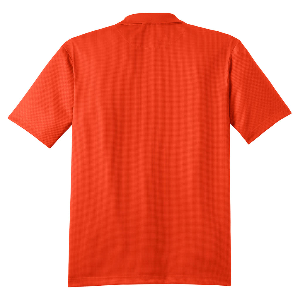 Port Authority Men's Autumn Orange Performance Jacquard Polo