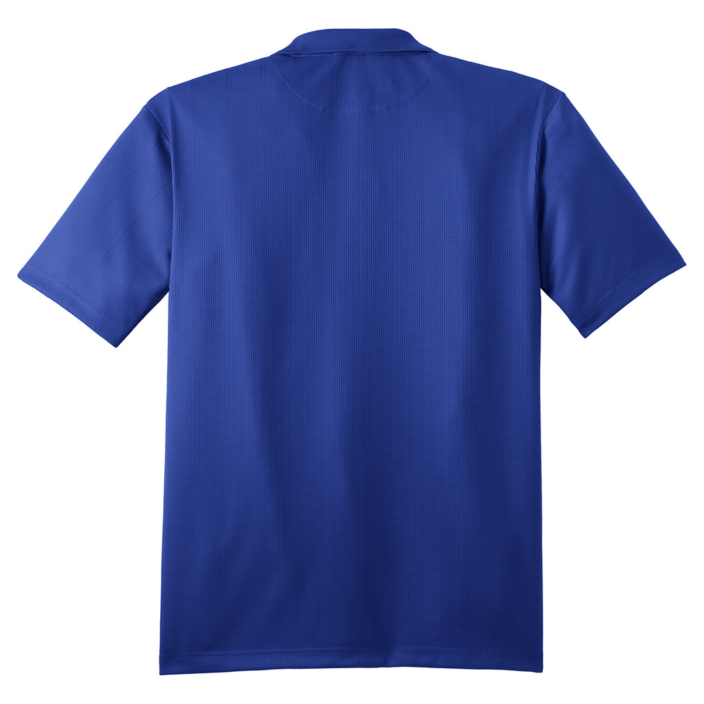 Port Authority Men's Hyper Blue Performance Jacquard Polo