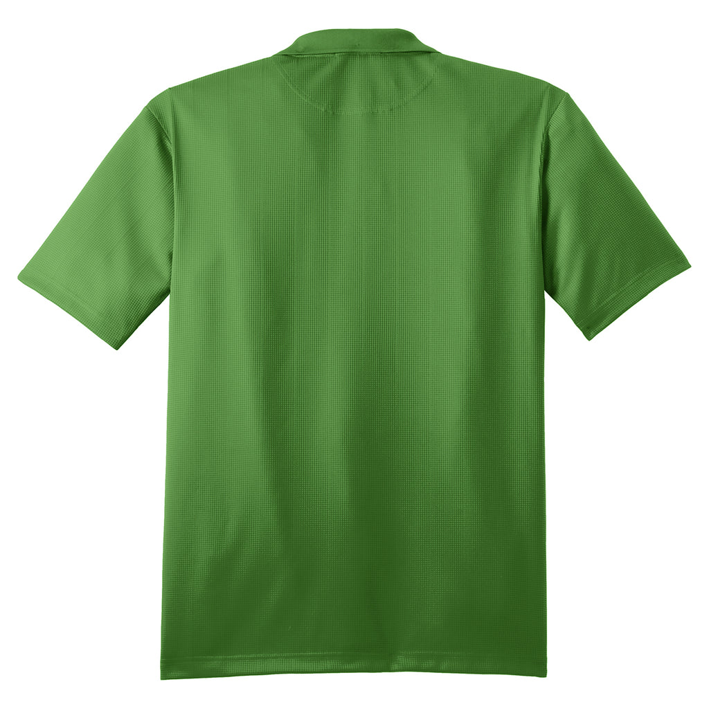 Port Authority Men's Vine Green Performance Jacquard Polo