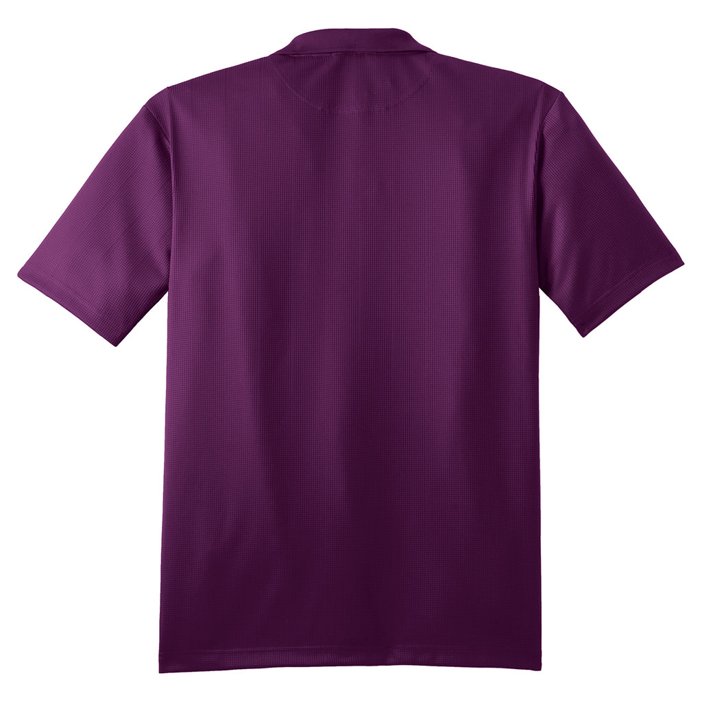 Port Authority Men's Violet Purple Performance Jacquard Polo